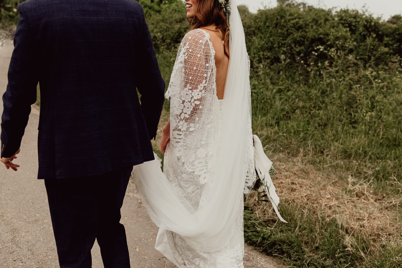 Norfolk boho wedding photographer