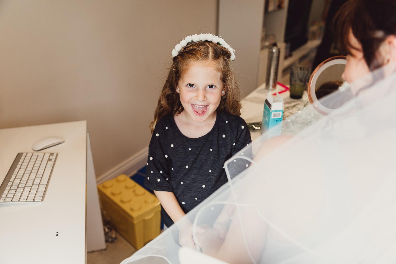 Norfolk norwich  wedding flowergirl