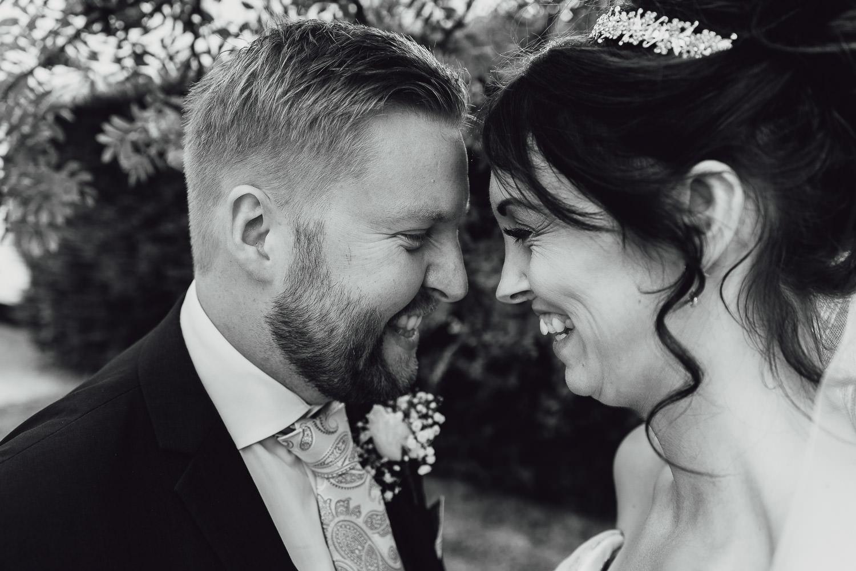 Norfolk norwich  wedding bride and groom smiling