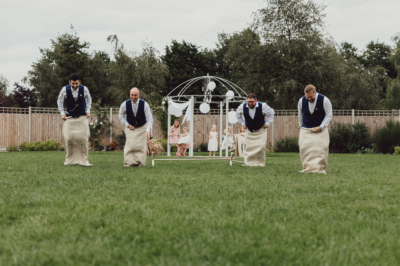 Norfolk norwich  wedding groomsmen sac-race