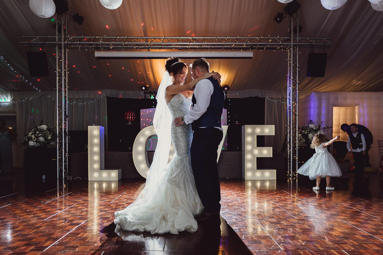 Norfolk norwich  wedding bride and groom first dance