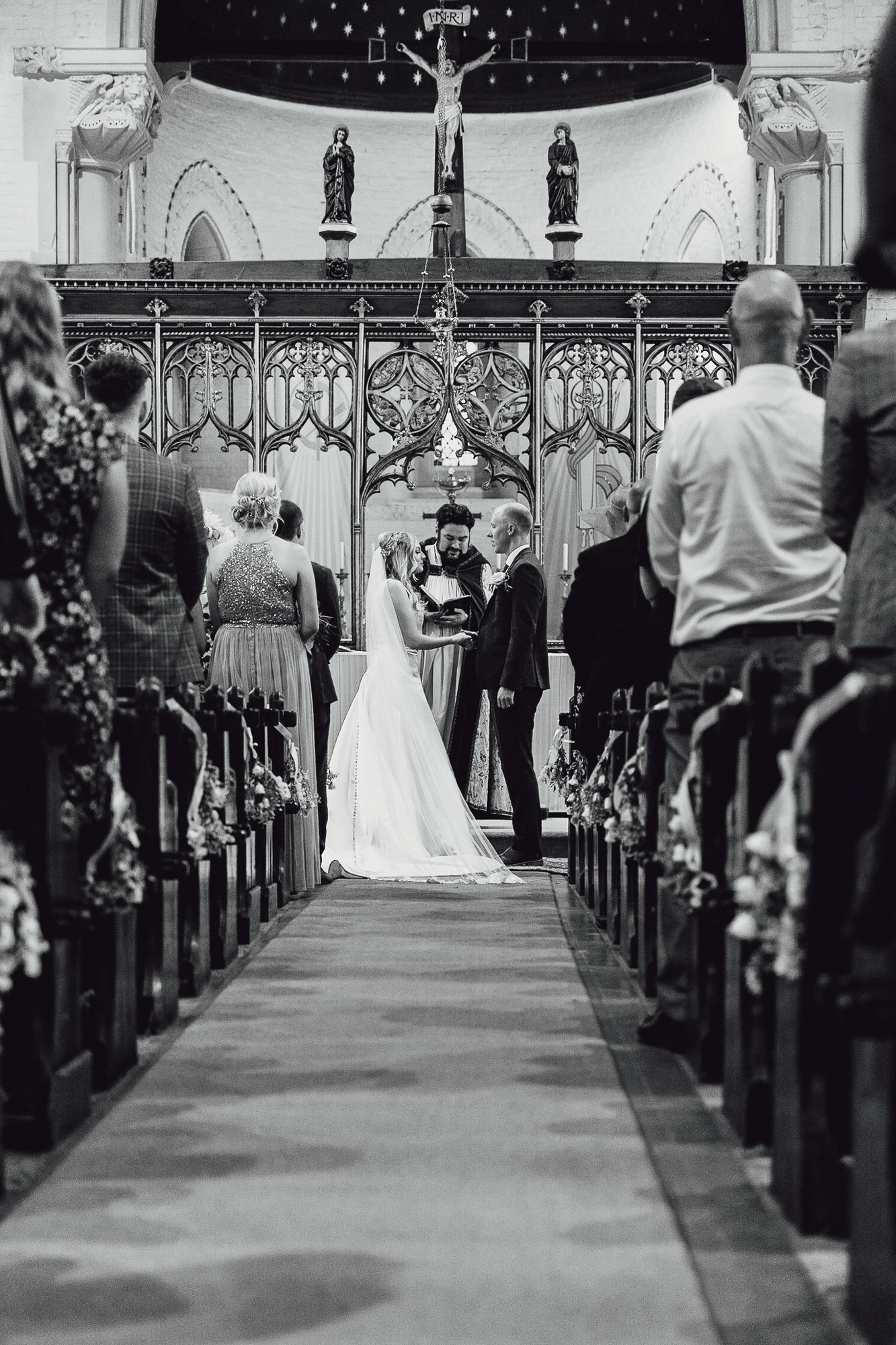 Norfolk norwich  wedding church ceremony