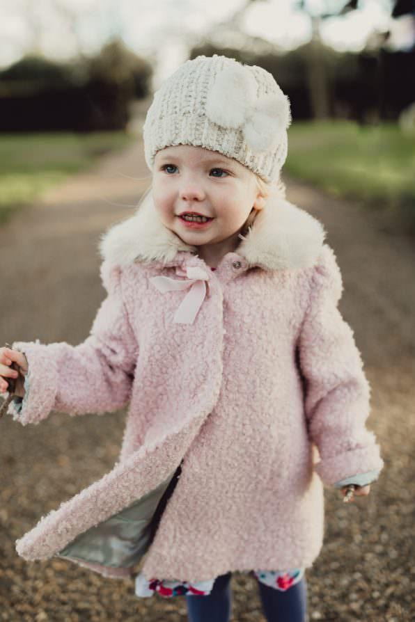 Norfolk family shoot walk in park