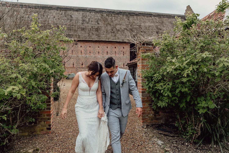 Hales Hall Norfolk Wedding Photographer