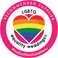 LGBTQ recommended wedding photographer